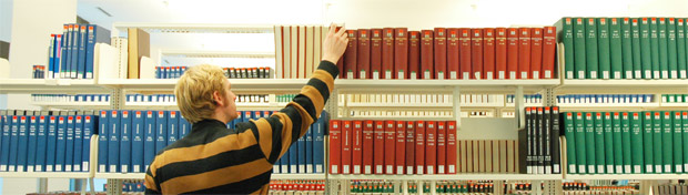 Reference holdings at the Business and Economics Library